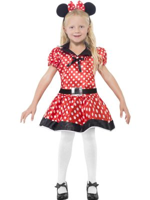Childrens Fancy Dress - Cute Mouse Costume (Just Like Mini Mouse)